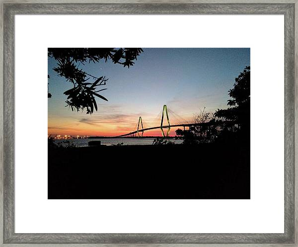 Spectacular Suspension Framed Print