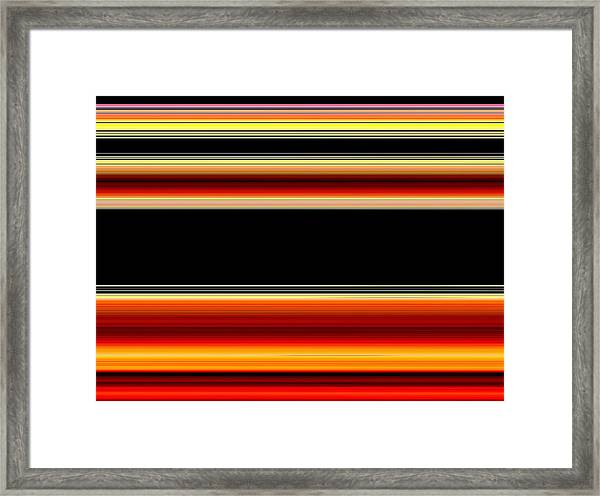 Spectra 4 Framed Print by Chuck Landskroner