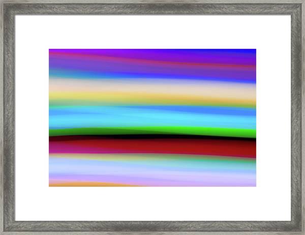 Speed Of Lights Framed Print