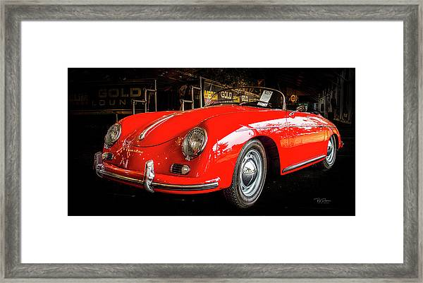 Speedster Framed Print