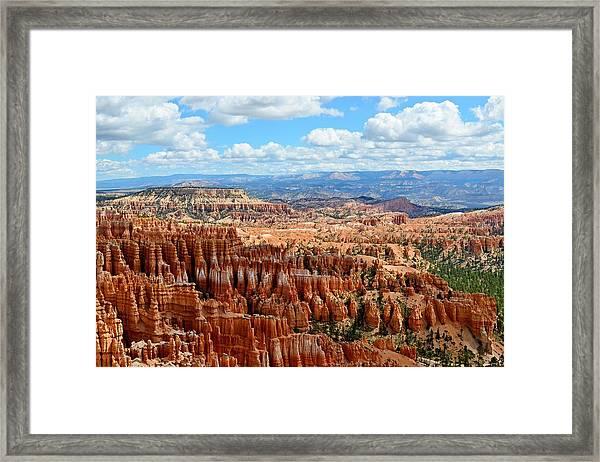 Spellbound - Bryce Canyon National Park, Utah Framed Print