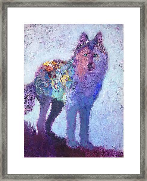 Framed Print featuring the painting Spellbound by Shelli Walters