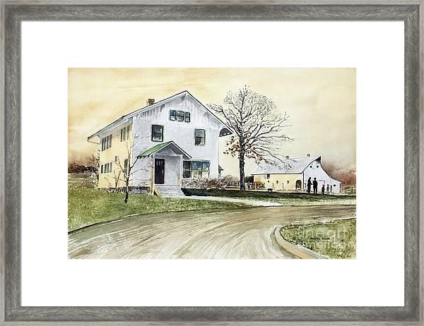 Sperry Homestead Framed Print
