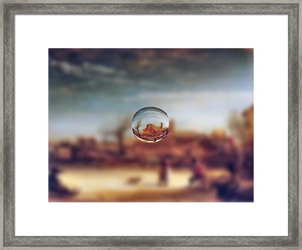 Sphere 14 Rembrandt Framed Print