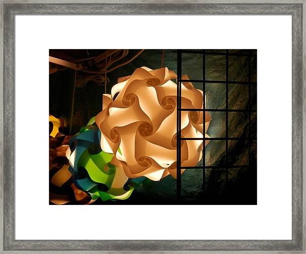 Spheres Of Light Framed Print