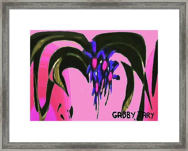 Spider Flower Framed Print