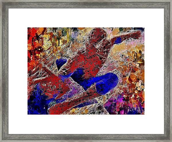 Spiderman 2 Framed Print
