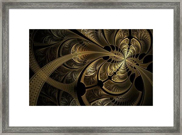 Spinning Splits Framed Print