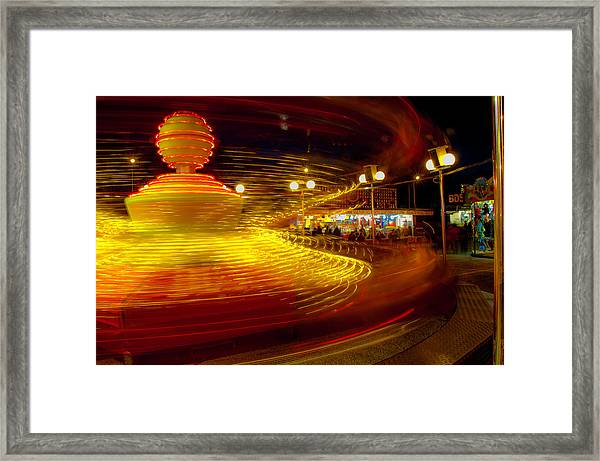 Spinning Until You're Dizzy Framed Print