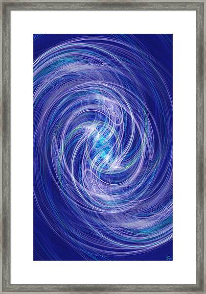 Spiral Dance Framed Print