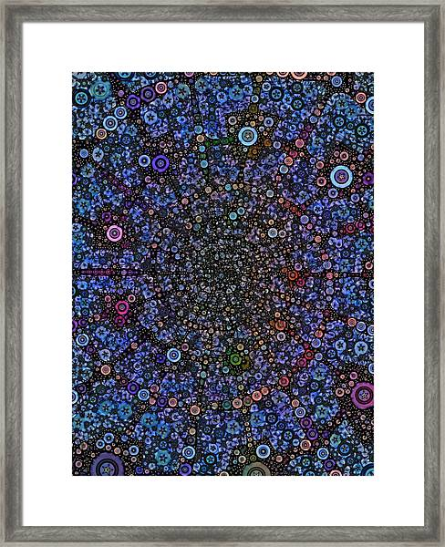Spiral Gallexy Framed Print