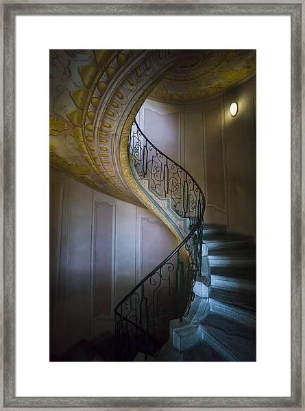 Spiral Staircase Melk Abbey II Framed Print