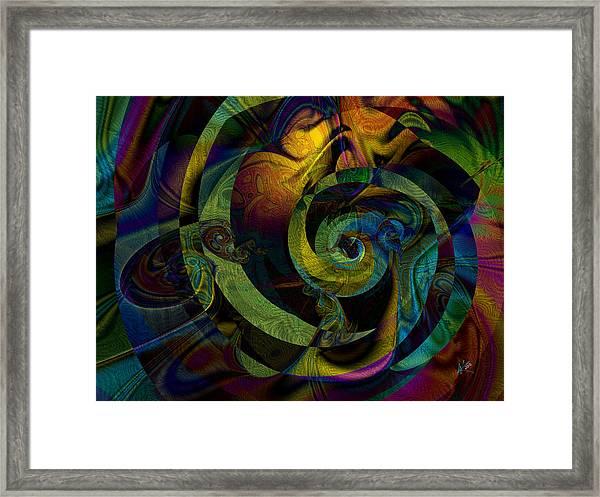 Spiralicious Framed Print