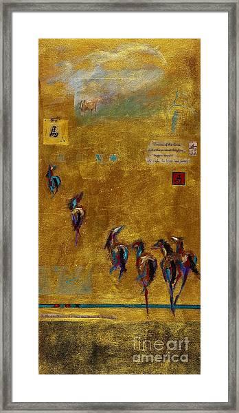 Spirit Horses Framed Print