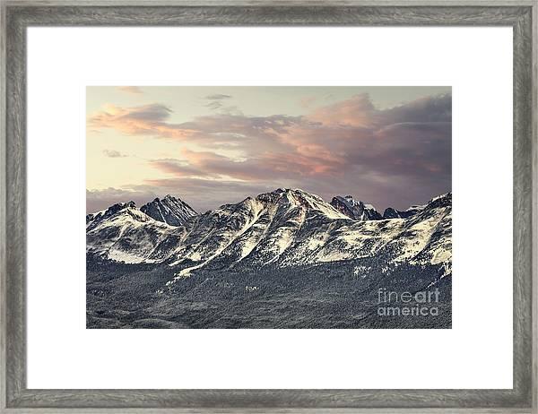 Spirit In The Sky Framed Print