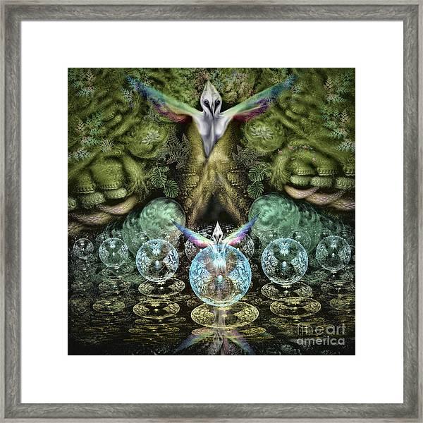 Spirit In The Woods Framed Print