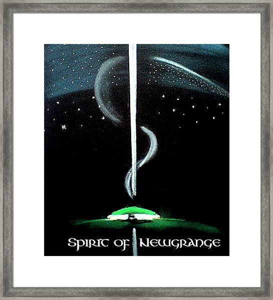 Spirit Of Newgrange Framed Print