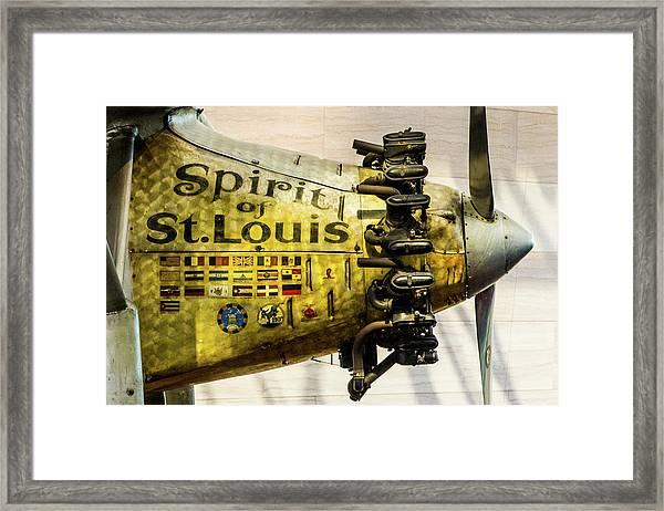 Spirit Of St Louis Framed Print