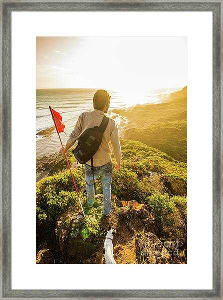 Spirit Of Tasmania Framed Print