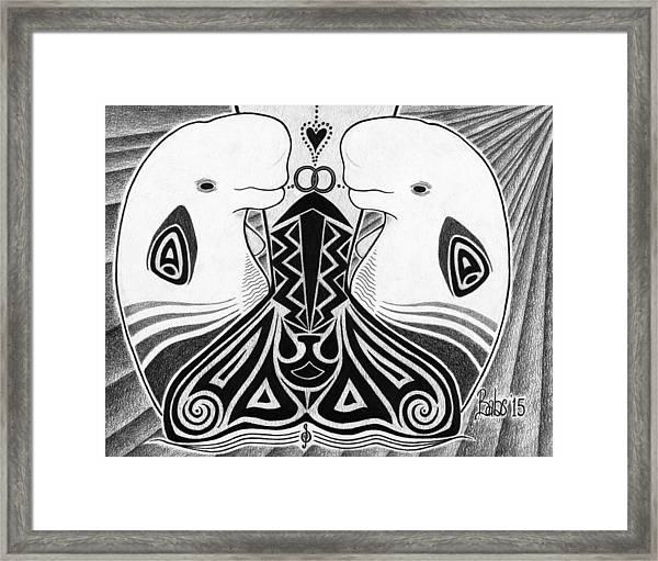 Spirit Of The Arctic Framed Print