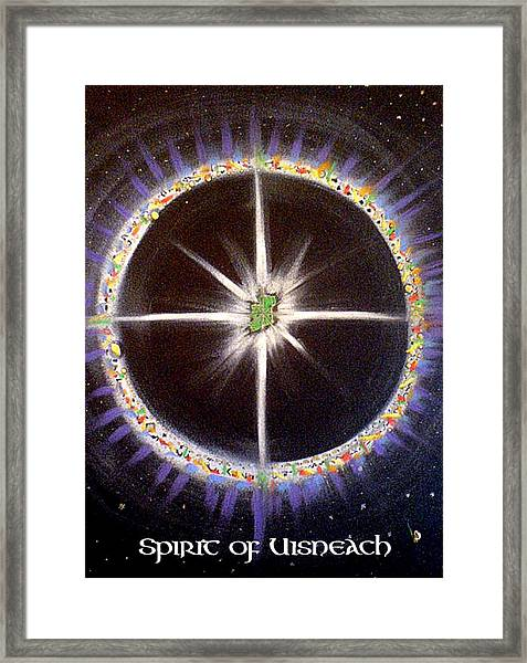 Spirit Of Uisneach Framed Print