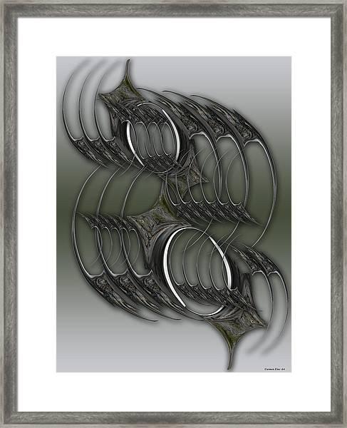 Spirit Or Continuation  Framed Print