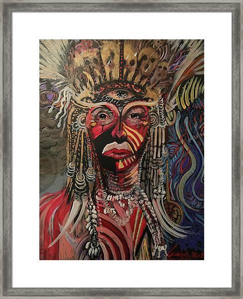 Spirit Portrait Framed Print