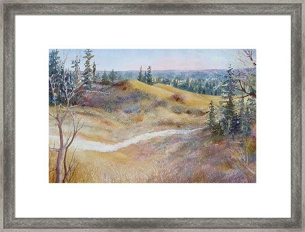 Spirit Sands Framed Print