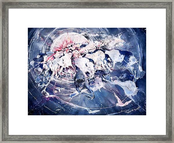 Spirits Released Framed Print
