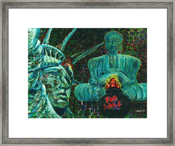 Spiritual Exhaustion Number Two Framed Print