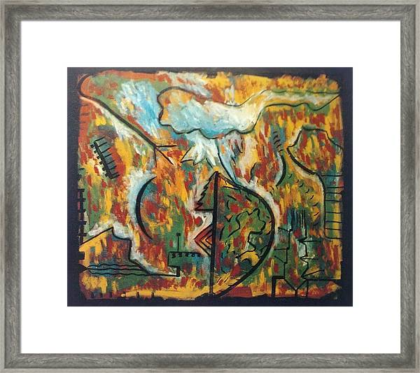Spirituality Framed Print by Alfonso Robustelli