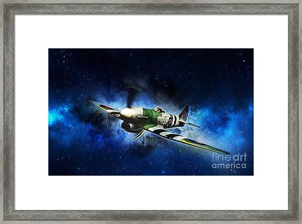 Hawker Typhoon Framed Print