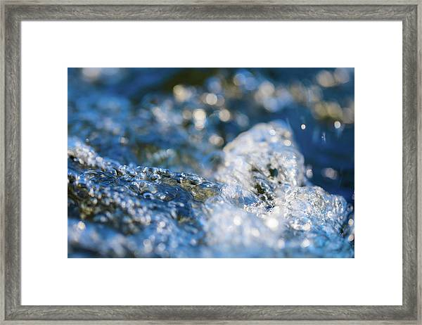 Splash One Framed Print