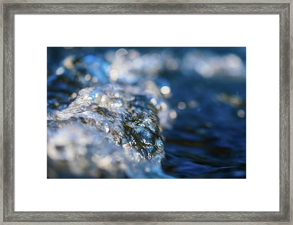 Splash Three Framed Print