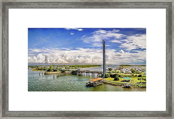 Splendid Bridge Framed Print