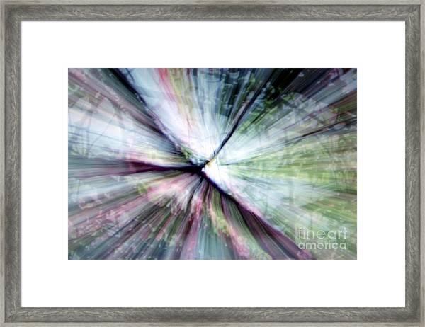 Splintered Light Framed Print