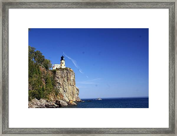 Split Rock 1 Framed Print