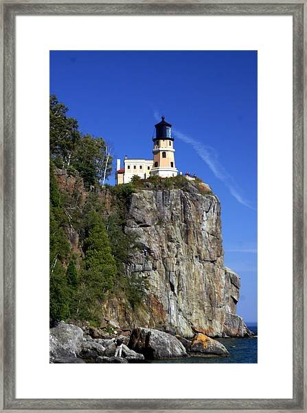 Split Rock 2 Framed Print