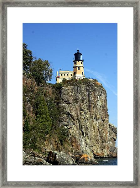 Split Rock 3 Framed Print