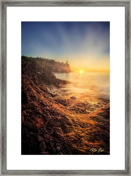 Split Rock Glory Framed Print