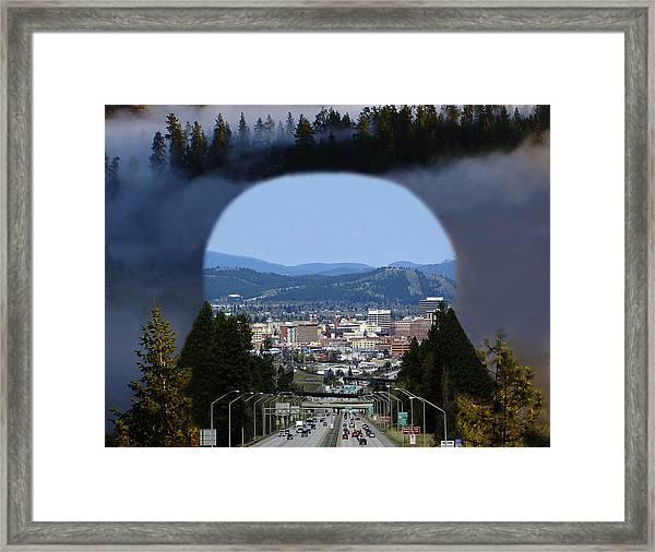Spokane Near Perfect Nature Framed Print