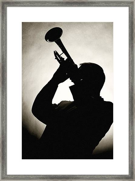 Spotlight Performer Framed Print