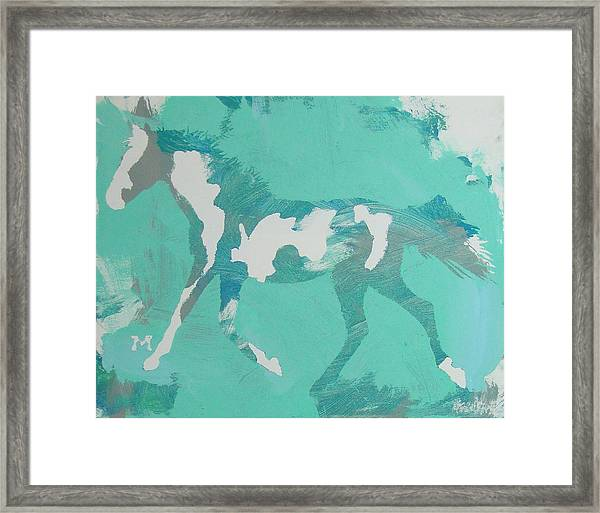 Framed Print featuring the painting Spots by Candace Shrope