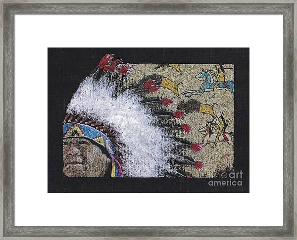 Spotted Eagle Framed Print
