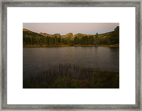 Sprague Lake Framed Print