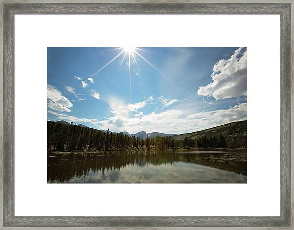 Sprague Lake Framed Print