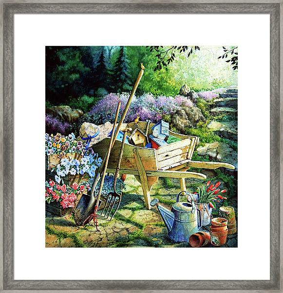 Spring At Last Framed Print