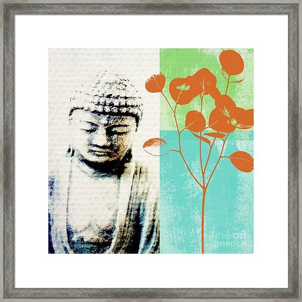 Spring Buddha Framed Print