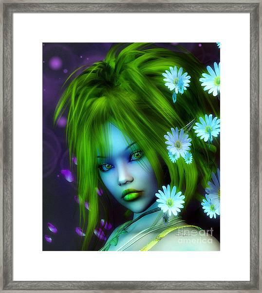 Spring Elf Framed Print