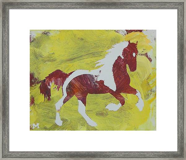 Framed Print featuring the painting Spring Forward by Candace Shrope